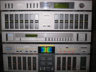 Equipo de música vintage Pioneer CB-055