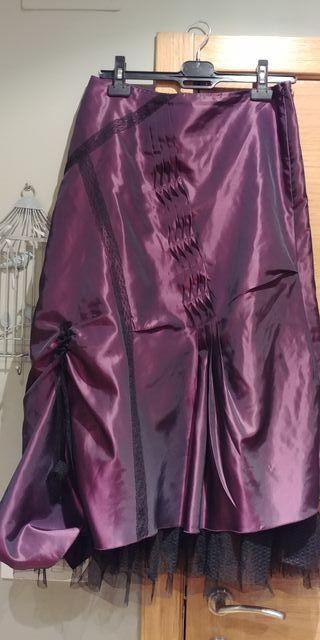 41c845114 Falda de tul negra de segunda mano en Madrid en WALLAPOP