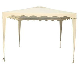 Carpa desmontable Gazebo blanco 3x3