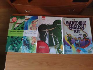 Libros 5 Primaria 10€ x libro