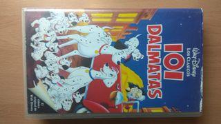 Película VHS 101 Dalmatas