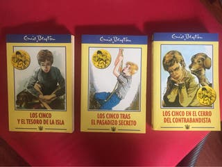 Los Cinco de Edith Blyton