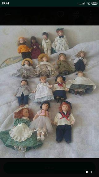 muñecas de epoca de porcelana