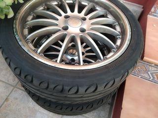4 Neumáticos 225/55/18 recién comprados