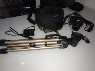 Kit cámara réflex 600D