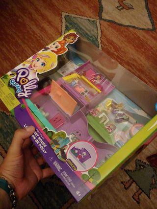 Polly Pocket Casa de Muñecas nueva