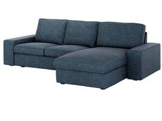 Sofa kivik +chaislongue , funda nueva a elegir