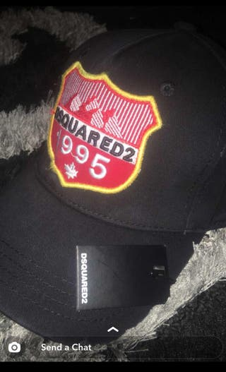 New D SQUARED 2 HAT