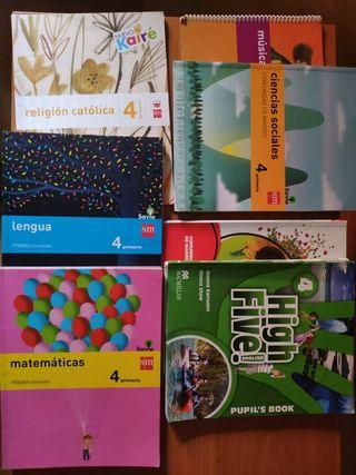 Libros 4 de primaria 10€ x libro