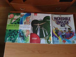 Libros 5 de primaria 10€x libro
