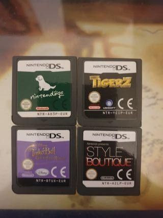 Juegos NINTENDO DS.