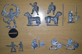 Miniaturas de plomo Wargames y rol
