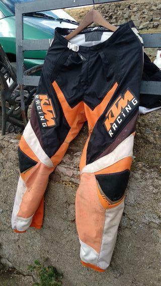 Pantalón Thor KTM Enduro motocross