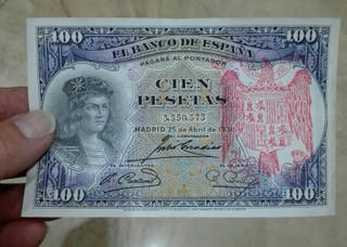 100 pesetas de 1931