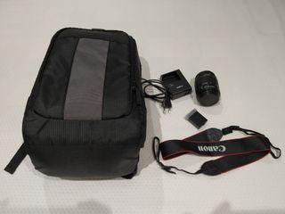 Pack Mochila y accesorios Canon 1100d