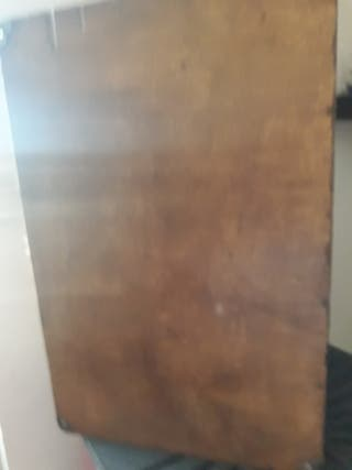 Maleta de madera restaurada