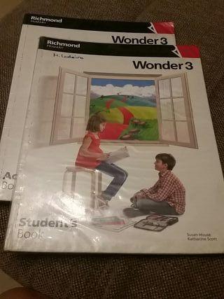 libro inglés Wonder 3 richmond