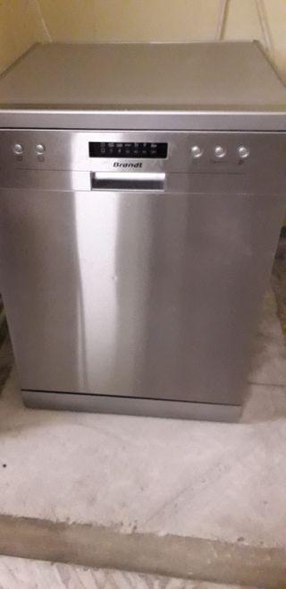 lavavajillas brandt gris buen estado con garantía