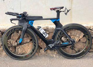 Bicicleta Triatlon Scott Plasma Di2