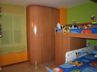 Habitación infantil tren/litera