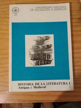 Historia de la Literatura 1 (Antigua y medieval)