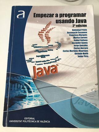 Empezar a programar usando Java