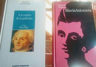 2 libros Historia Francia Revolución Francesa