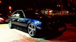 """CAMBIO LLANTAS M6 18"""" BMW e39"""