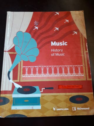Libro Música en inglés. Santillana