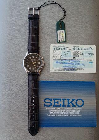 Reloj nuevo Seiko premier Kinetic automatico
