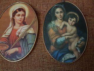 Antiguos cuadro religioso.