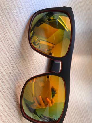 Gafas sol de espejo de pasta