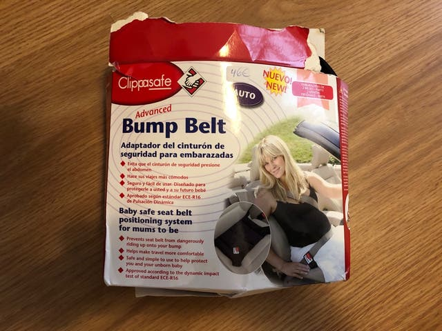 Adaptador cinturon embarazadas