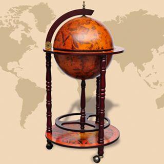 vidaXL Mueble bar bola del mundo madera 60774