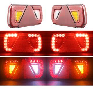 PACK PILOTS LED REMOLQUE 12V 24V HOMOLOGADOS 5 FUN