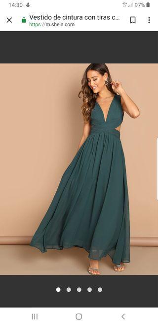 vestido de fiesta / elegante