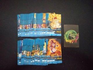 Dragon Ball Z Super Battle coleccion completa