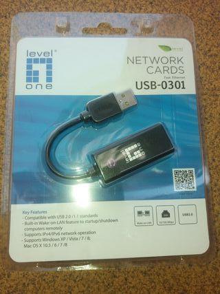 Adaptador de red USB