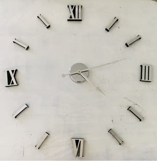 Reloj Grande pared adhesivo
