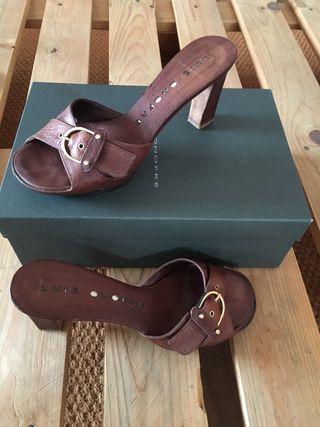 Zapatos piel de Luis Onofre. Piel. N38
