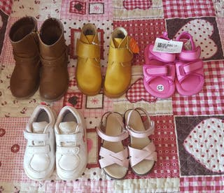 Lote calzado N° 25+ (6+3) URGE