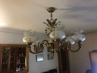 Lámpara bronce