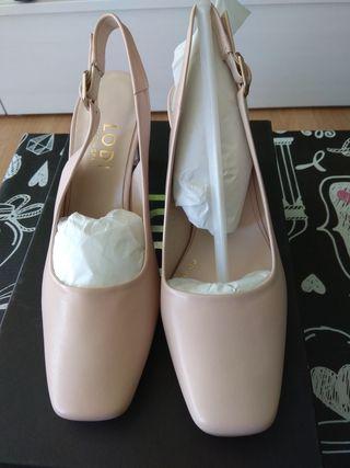Zapato salón marca lodi de el corte ingles talla36