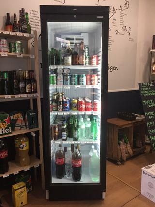 Refrigerador expositor de bebidas