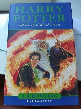 Libro Harry Potter y el príncipe mestizo en Ingles