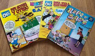 Tebeos y comics del humor español