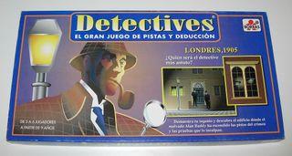 Juego de mesa - Detectives de Borras año 1997