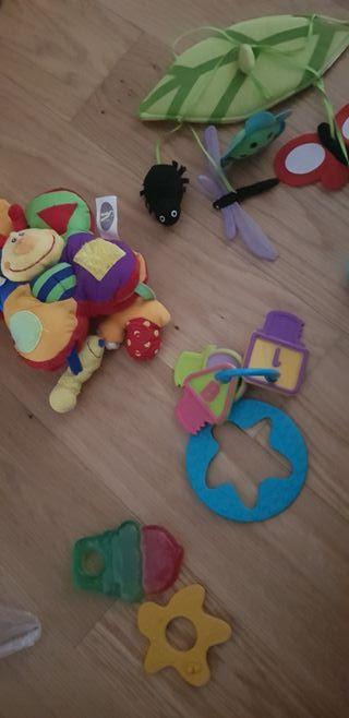 lote de juguetes bebé, colgante cuna