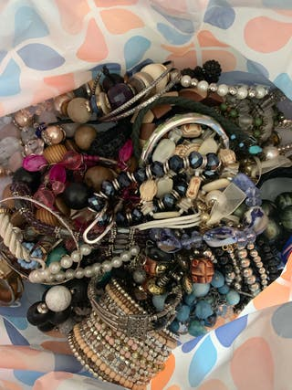 Job lot of bracelets and bangles