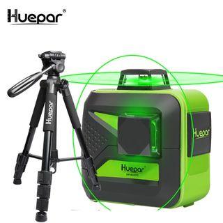 HUEPAR SET LÁSER 602CG CON TRÍPODE 1.4 NIVEL LASER